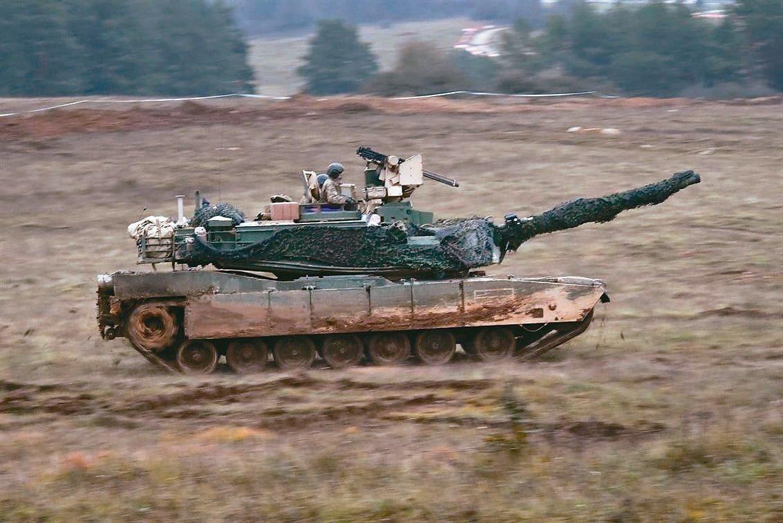 M1A2戰車。圖/翻攝自美國國防部