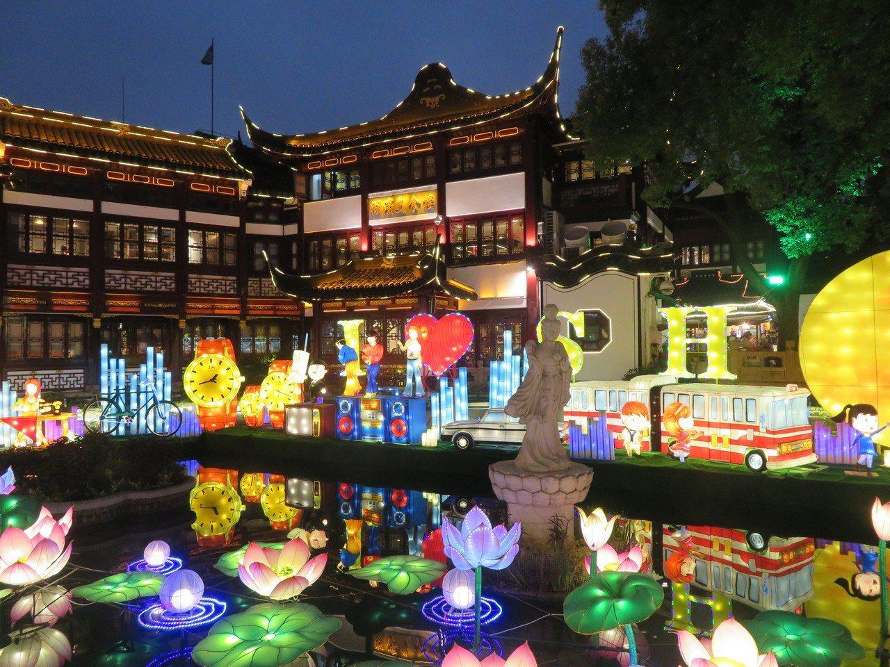2019豫園新春民俗藝術燈會。記者林則宏/攝影