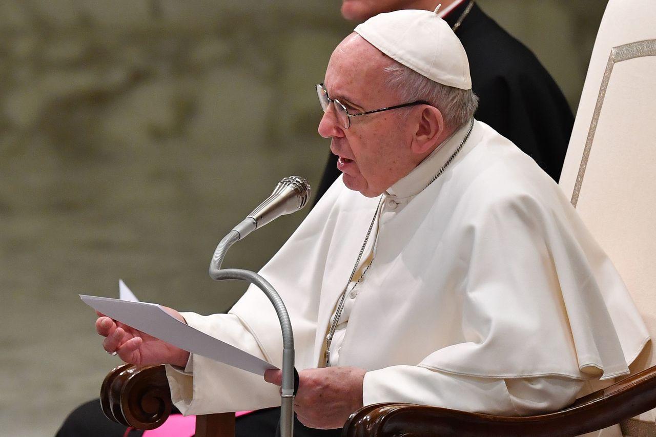 天主教教宗方濟各承認教會內持續發生教士性侵修女問題。 (法新社)