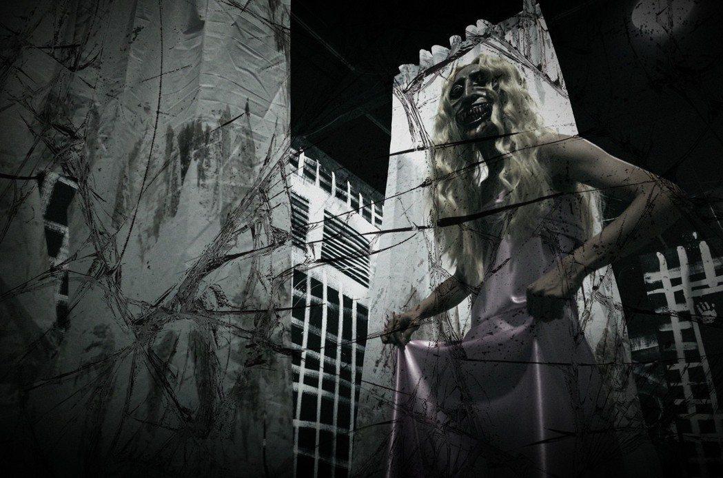 《伊藤潤二恐怖體驗展—絕命逃走中》高雄展展場照。圖/很好聯想提供