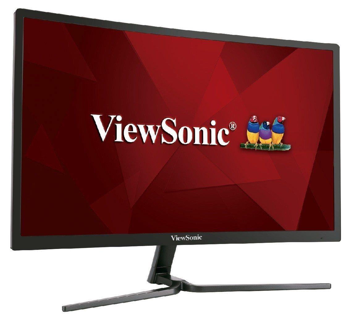 ViewSonic 24型電競曲面液晶顯示器。 燦坤/提供