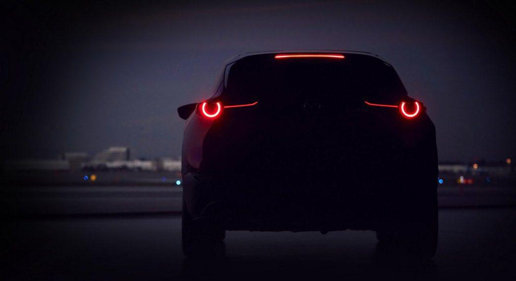Mazda釋出全新SUV預告圖,並表示將在三月份的日內瓦車展中發表。 摘自Maz...