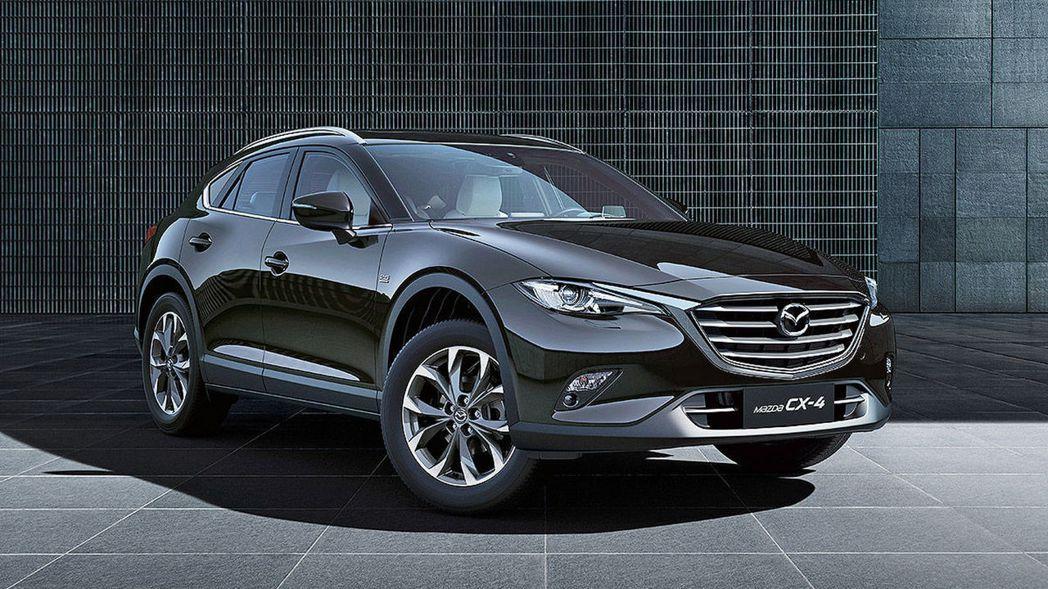 中國限定Mazda CX-4。 摘自Mazda