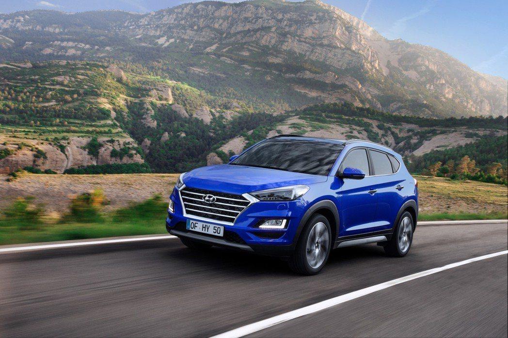 Hyundai Tucson在第二季迎接小改款式樣。 摘自Hyundai