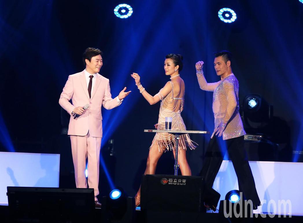 費玉清今晚在台北小巨蛋舉辦首場《費玉清2019告別演唱會》。記者徐兆玄/攝影