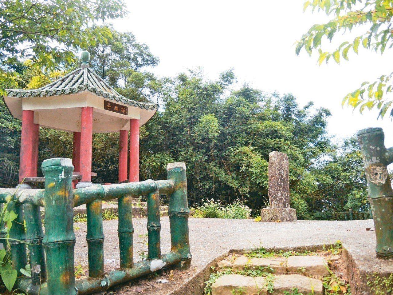 金字碑古道。 圖/新北市觀旅局、楊智仁提供