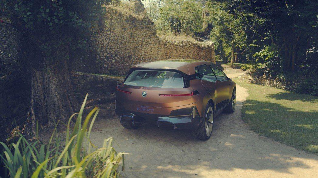 量產版iNEXT將於2021年登場。 摘自BMW