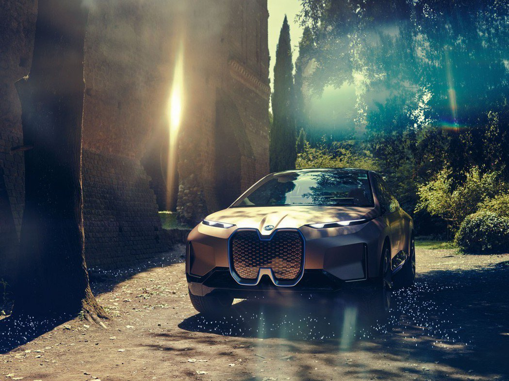 BMW Vision iNEXT Concept。 摘自BMW