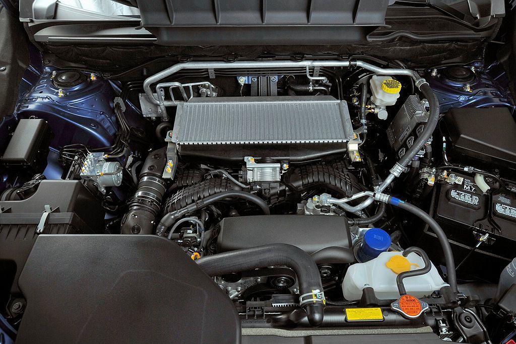 沿用旗艦休旅Ascent的新2.4L水平對臥渦輪增壓引擎,在全新第七代Legacy上具備260hp最大馬力、38.2kgm峰值扭力輸出表現。 圖/Subaru提供