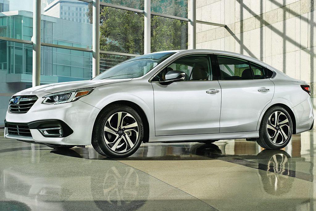 全新第七代Subaru Legacy正式在美國芝加哥車展發表,預計今年秋季開始在美國市場販售。 圖/Subaru提供
