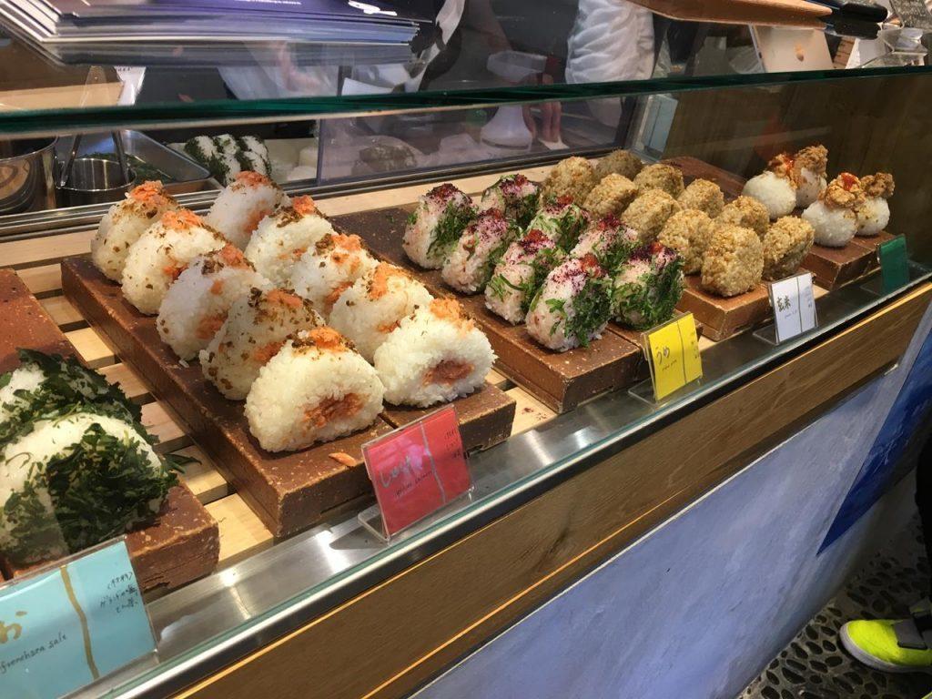 MISOJYU的飯糰看起來也都很好吃