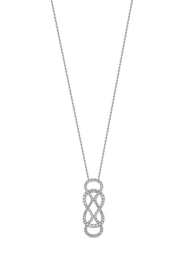 迪麗熱巴配戴的MIKIMOTO Ruyi Collection長項鍊鑽石扣飾可單...
