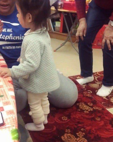 郭富城與方媛的女兒Chantelle。圖/摘自IG