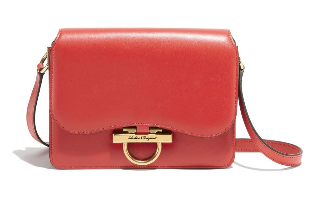 JOANNE紅色牛皮肩背包(中),64,900 (2)