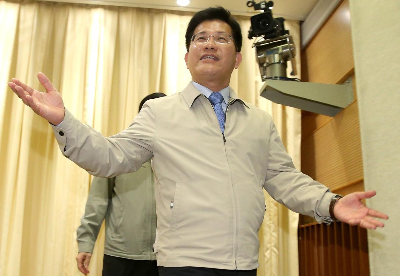 交通部長林佳龍。記者林澔一/攝影