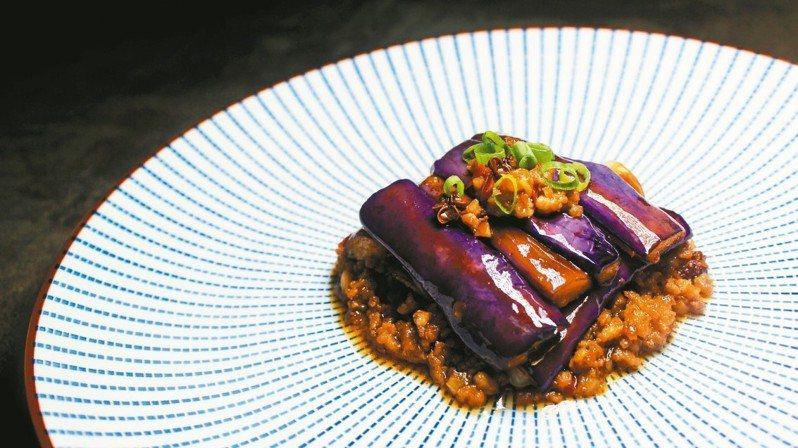 花椒魚香茄子。 大豐行肉舖/提供