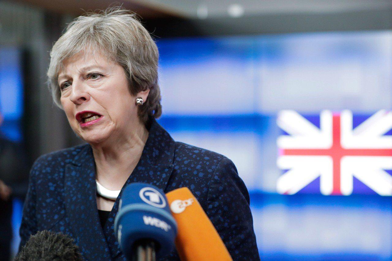儘管歐洲聯盟各國領袖已拒絕再協商英國脫歐方案,英國首相梅伊(Theresa Ma...