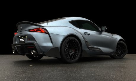 "影/不只RAV4有TRD套件!Supra Performance Line Concept ""TRD""發表"