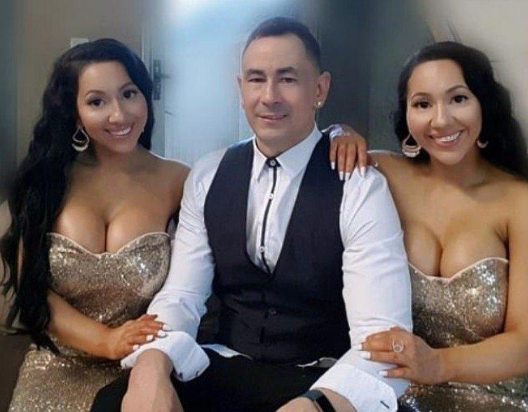 澳洲雙胞胎姊妹與男友。 圖擷自Daily Mail