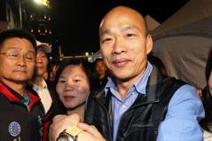 王世堅送父女表 韓國瑜:他真是非常有感情的議員