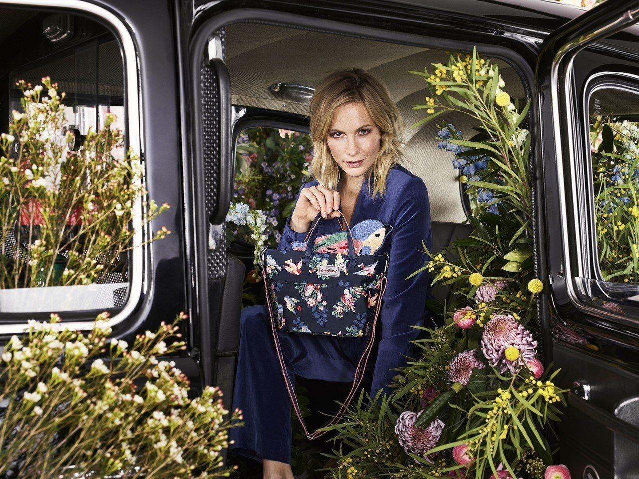 英國知名的時尚名媛芭碧迪樂芬妮成為Cath Kidston首位代言人。圖/Cat...
