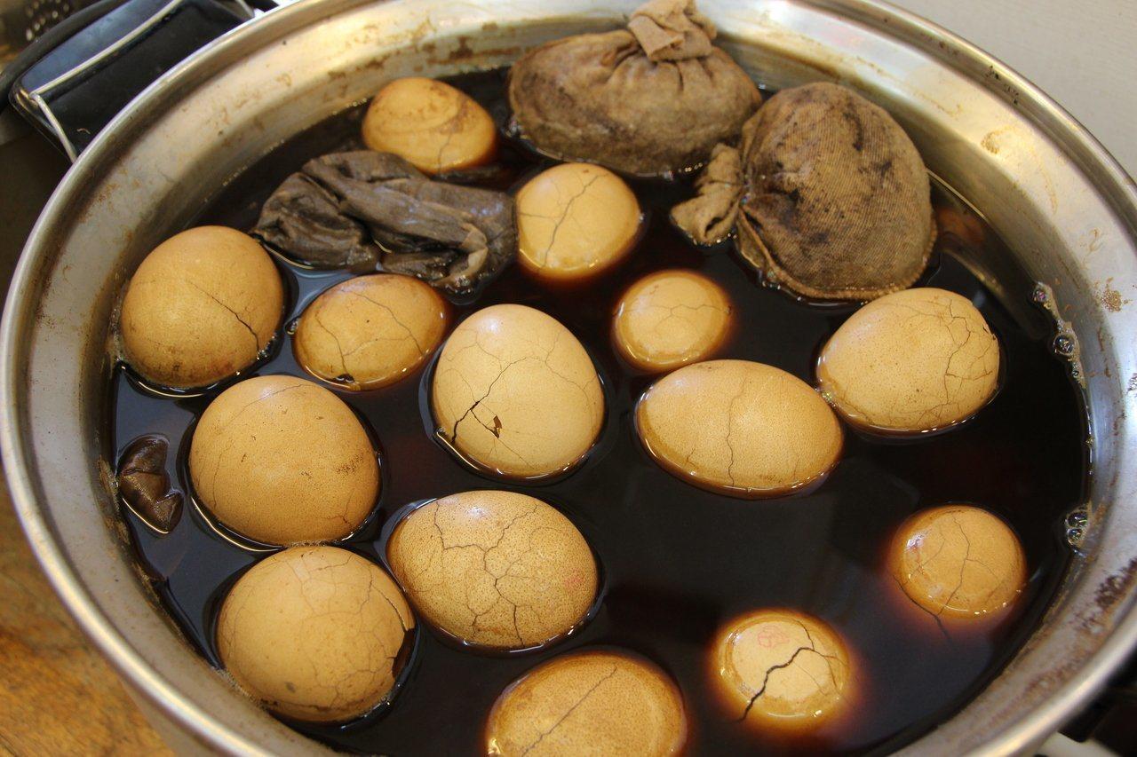 茶葉蛋能補充蛋白質。本報資料照片