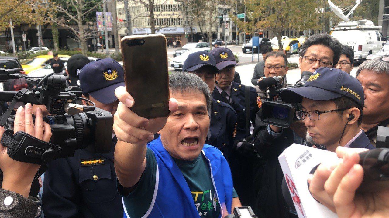 華航企業工會理事長劉惠宗。記者侯俐安/攝影