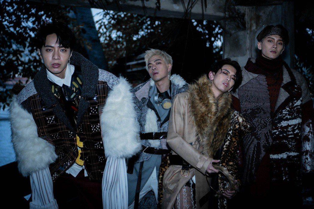 男團「泰坦Titan」發行EP「Got Ya Back」。圖/本勢娛樂提供