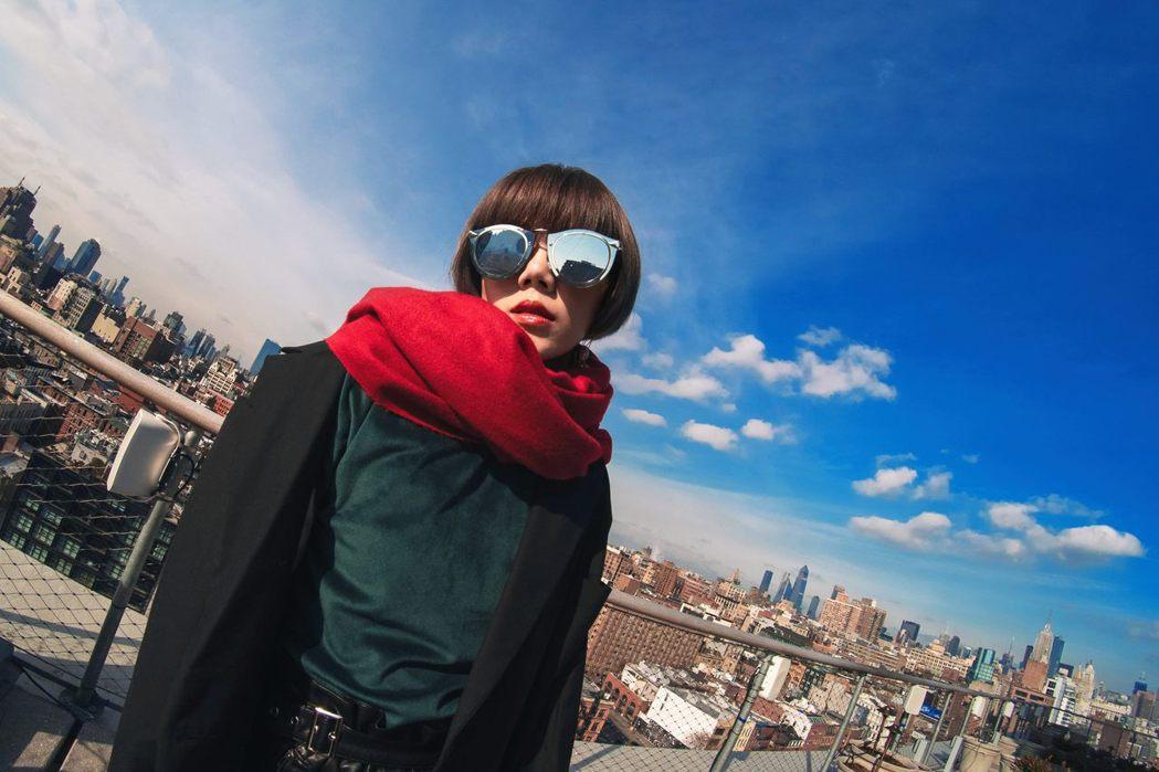 楊晨熙去年到美國紐約一遊。圖/衛視提供