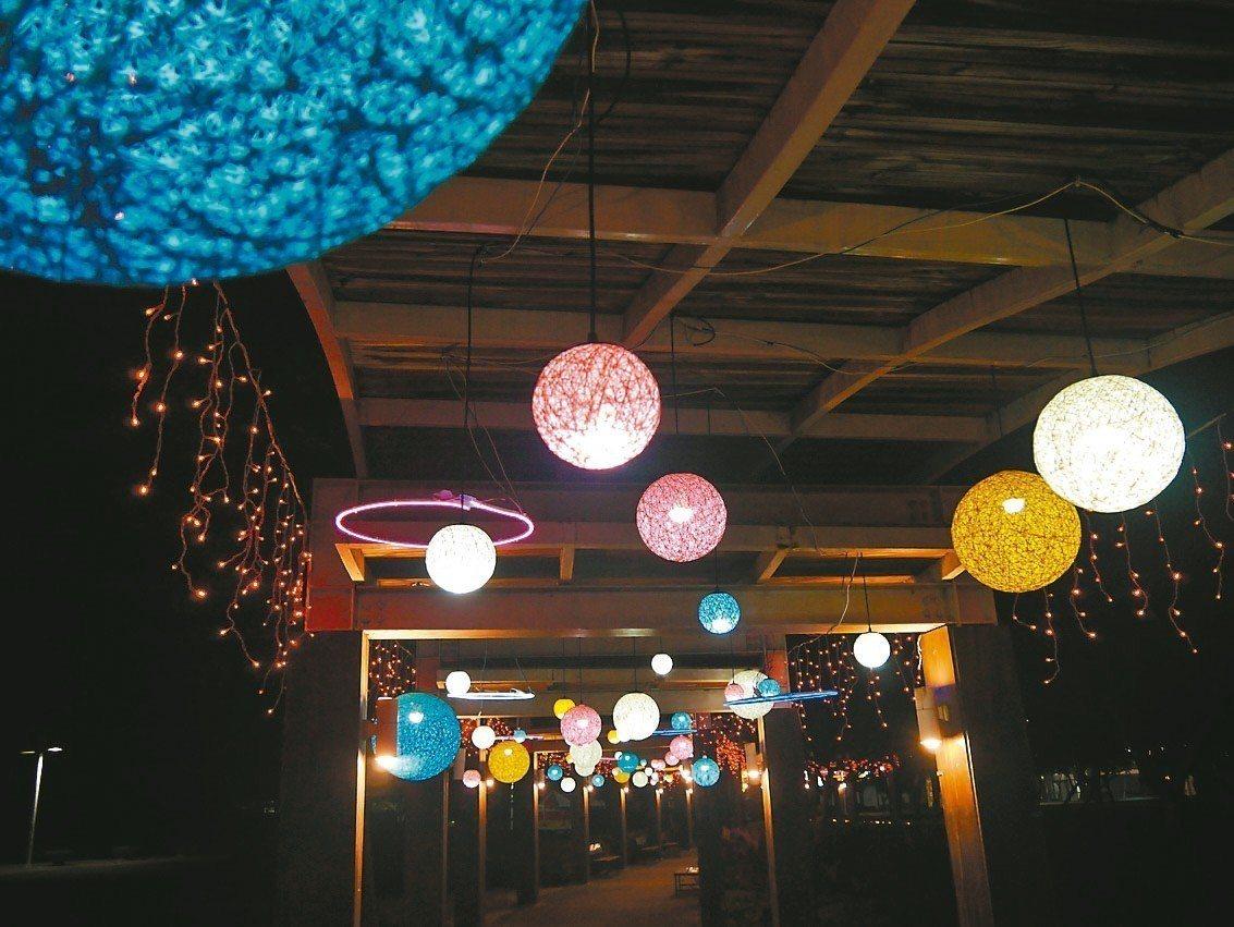 「花在彰化」燈會處處營造浪漫氣氛。 圖/彰化縣政府提供