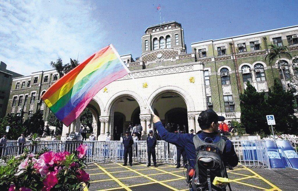同婚專法草案出爐。 圖/聯合報系資料照片