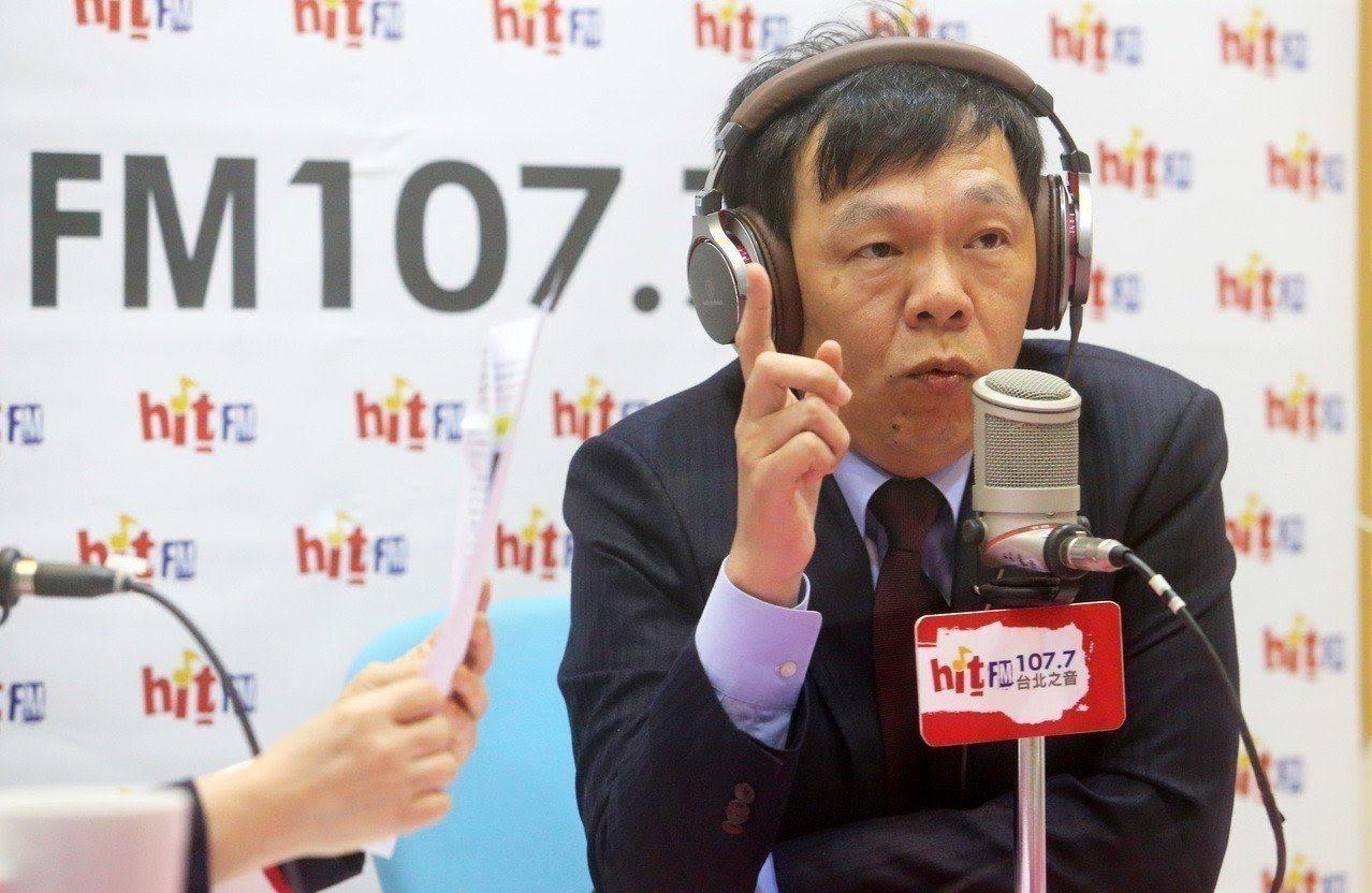 海基會秘書長姚人多。圖截自台北之音直播
