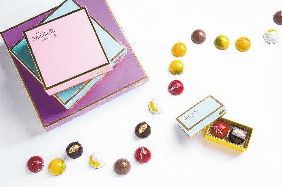 文華餅房如藝術品般的精品甜點形象深植甜點控的心。 台北文華東方酒店/提供