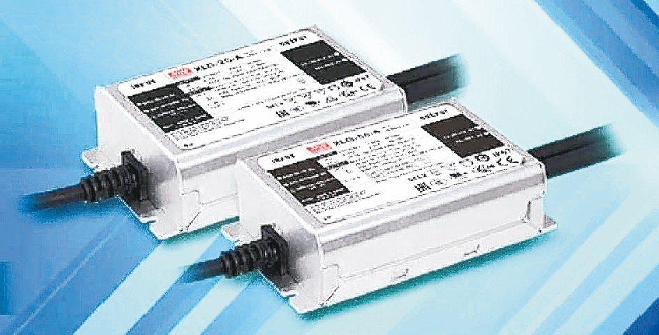 明緯為LED照明開發的XLG50電源。 明緯/提供