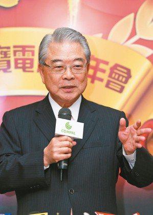 仁寶董事長許勝雄 (本報系資料庫)