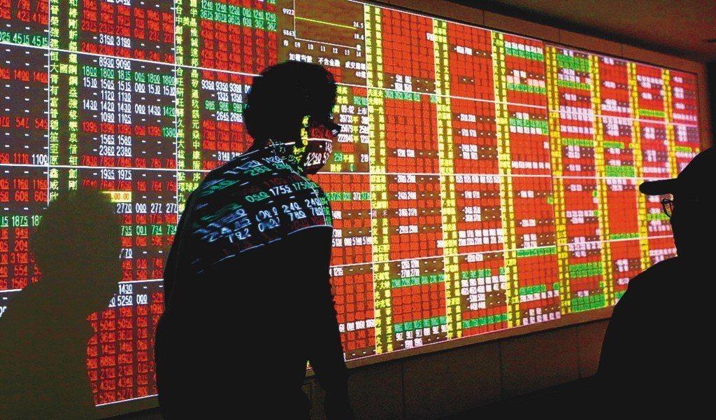台北股市今天開盤漲15.9點。聯合報系資料照