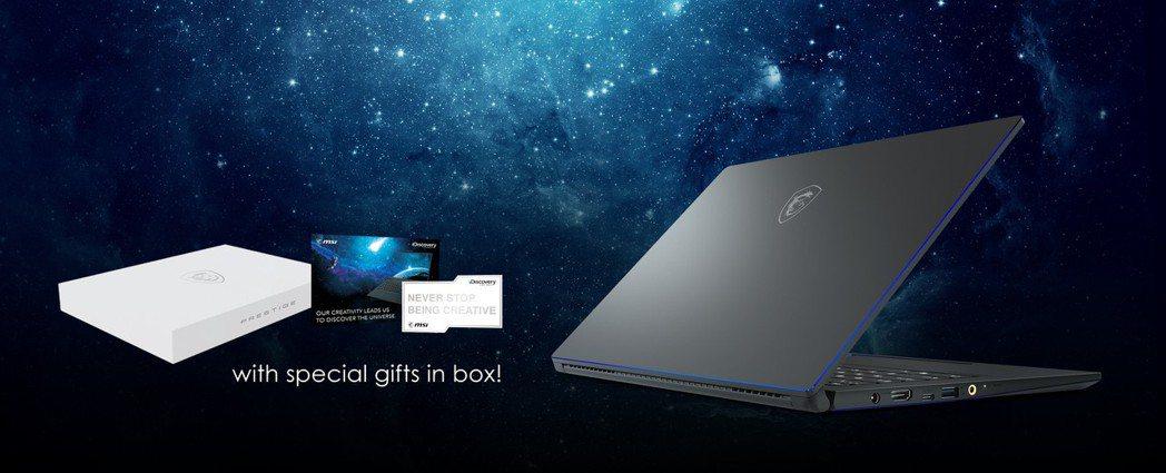 微星與Discovery探索頻道攜手合作,購買PS63即可獲得限量贈品。 微星/...