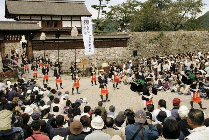 松代武士的文化特色,武道、劍術、弓道、鎗術的傳習,也在課程內容中。圖/劉醇遠提供