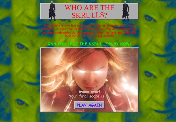 ▲ 小遊戲其實還滿有趣的,要分辨誰是人類誰是史克羅人。
