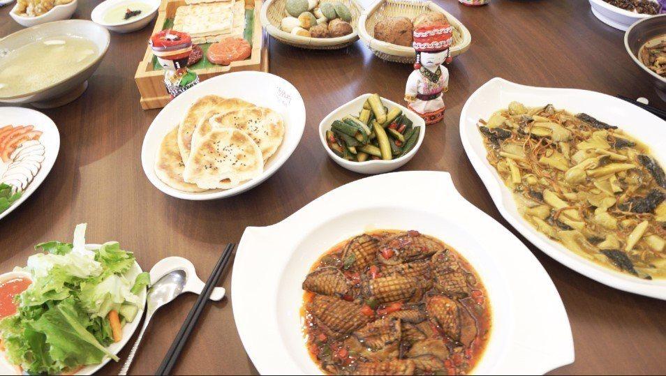 雲南素食餐宴。 雲南省餐飲與美食行業協會/提供