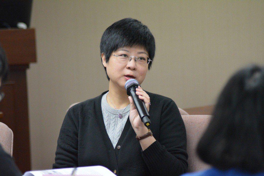 交通大學科技法律學院教授林志潔。 立法院/提供。