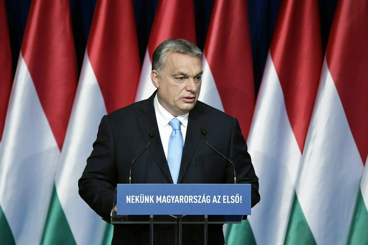 匈牙利總理奧班10日宣布,生下四名或四名以上的匈牙利女性可終生免繳所得稅。美聯社