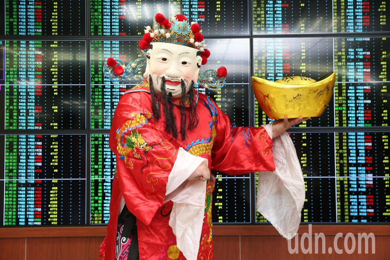 全球股市的元月行情延燒。 聯合報系資料照/記者余承翰攝影