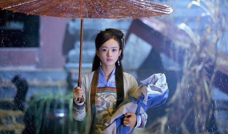 趙麗穎飾演穆念慈。圖/中視提供