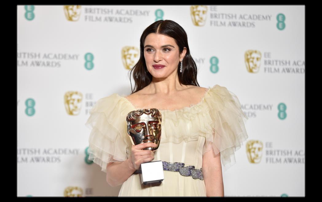 瑞秋懷茲以「真寵」拿下英國影藝學院獎最佳女配角。圖/歐新社