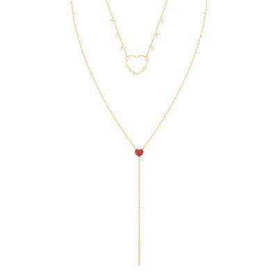 施華洛世奇OXO 項鍊,6,490元。 圖/施華洛世奇提供