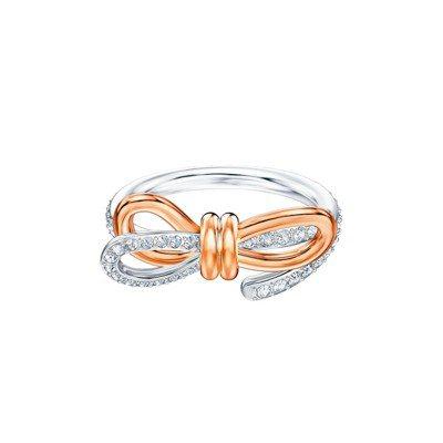 施華洛世奇LIFELONG BOW戒指,4,490元。 圖/施華洛世奇提供
