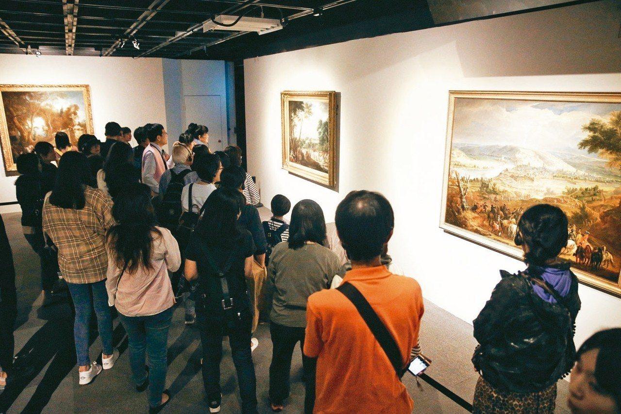 普希金博物館特展閉展倒數一周。 圖/聯合數位文創提供