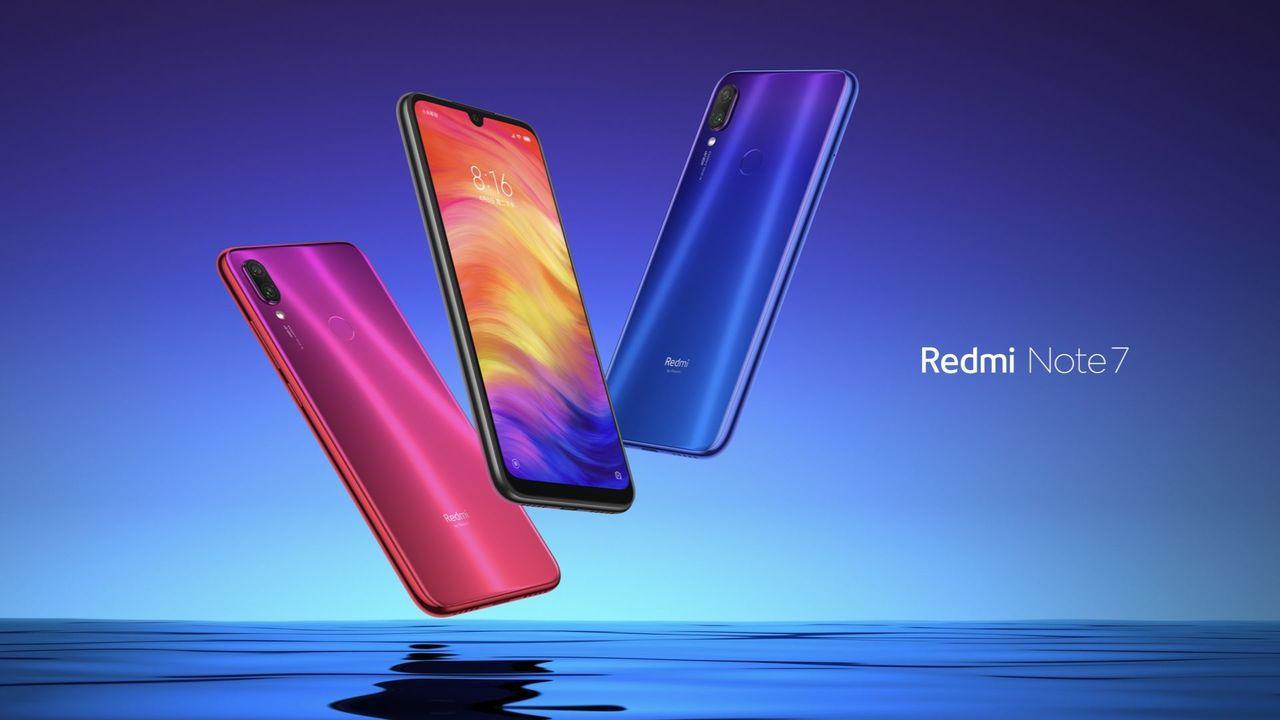 Redmi首款新品紅米Note7在大陸出貨量已突破100萬支。 圖/擷自小米官網