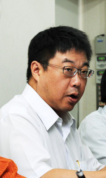 中國文化大學新聞系主任胡幼偉。聯合報系資料照/記者陳正興攝影